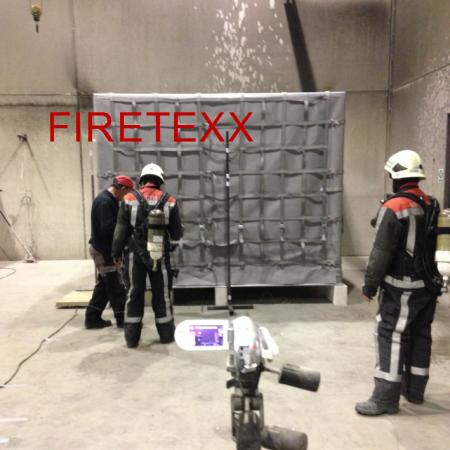 Aircargo fire containment cover